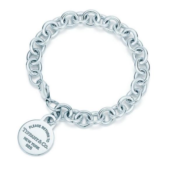 """Tiffany & Co. Jewelry - Tiffany & Co """"Please Return to"""" Bracelet"""